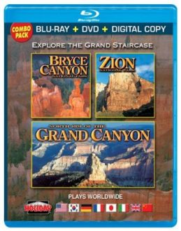 Bryce Zion Grand Canyon Blu-Ray DVD