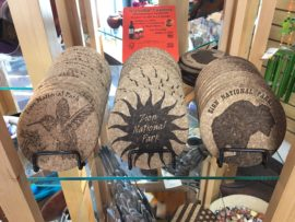 Zion Cork Drink Coasters